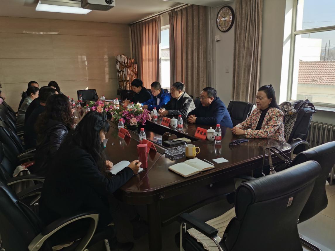 内蒙古财经大学到市投资集团公司进行调研